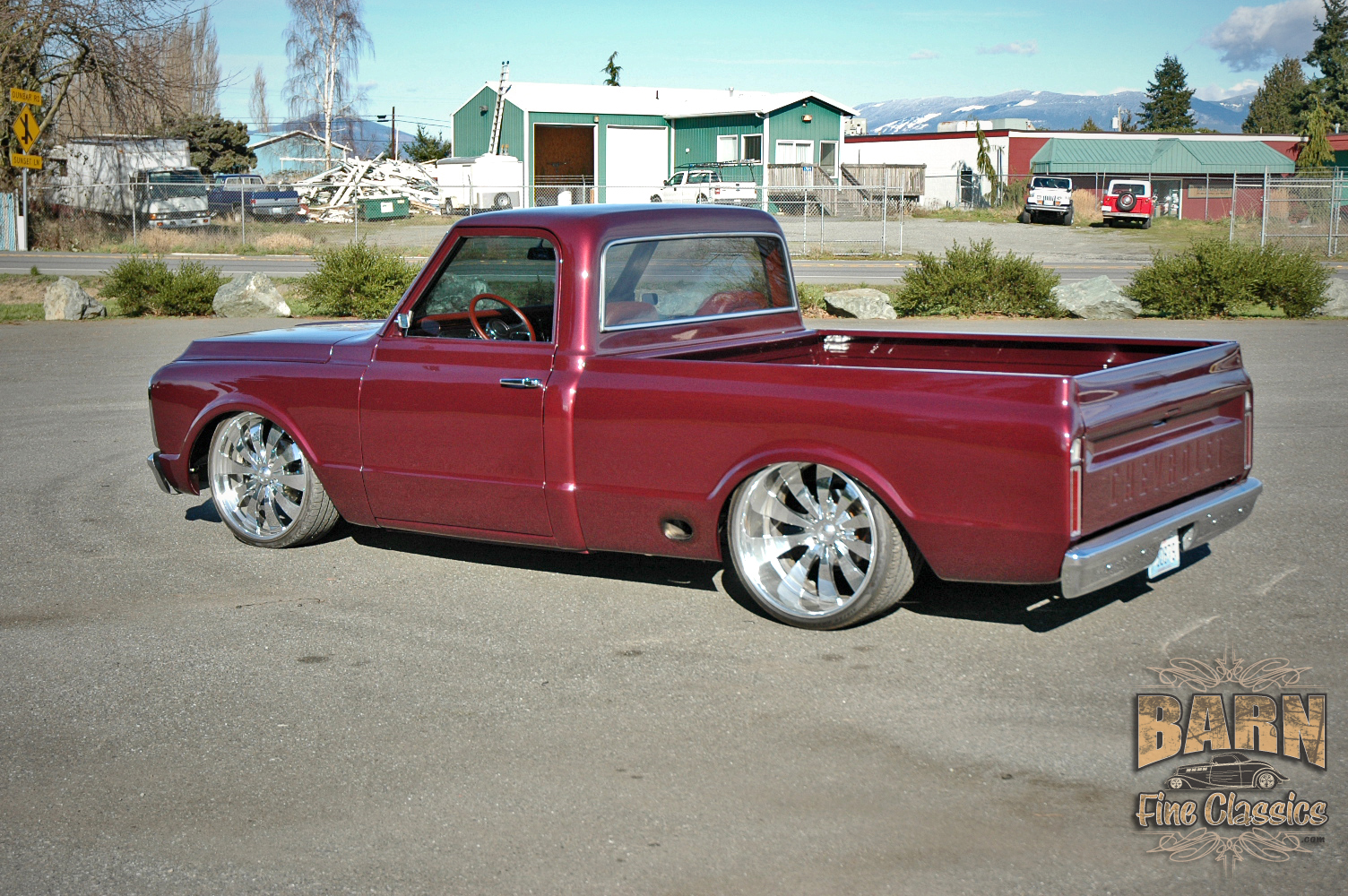 68 chevy truck parts